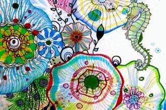 Summer Camp: Watercolor Underworlds (Grades K-2)