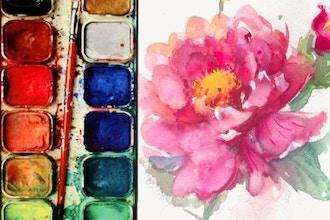 Summer Camp: Botanic Watercolor Painting (Grades 6-12)