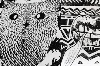 Summer Camp: Pen and Ink Illustration (Grades 6-12)