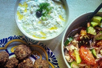 Online Greek Cooking with Despina