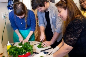 Lebanese Cooking w/ Jeanette: Immersion Workshop #2