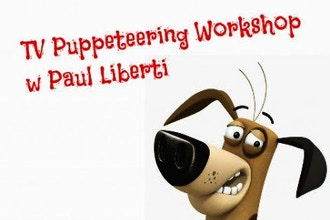 On Camera TV Puppeteering Intensive w/ Paul Liberti