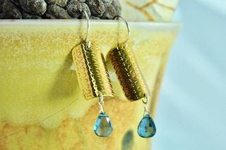 DIY Workshop Roll Printed Earrings