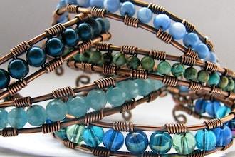 DIY Wire Wrap Cuff Bracelet (Private/Semi-Private)