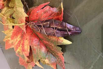 Create With Me: Fold Forming Leaf