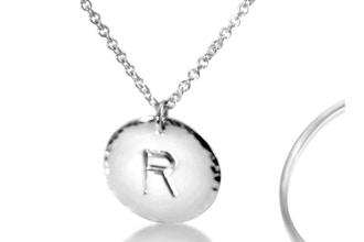 DIY Stamped Initial Necklace (Private/Semi-Private)