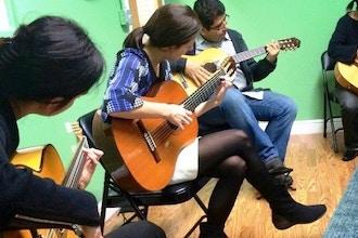 Absolute Beginner Classical & Spanish/Flamenco Guitar
