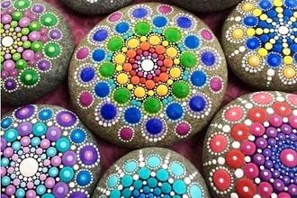 Dot Mandala Painting (Materials Included)