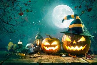 Halloween Trivia + Scavenger Challenge