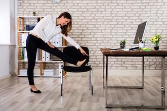 Virtual Chair Stretching