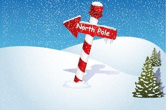 Escape the North Pole: Virtual Winter Escape Room