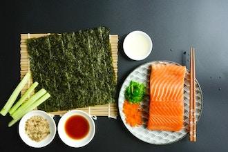 Sushi Making Virtual Workshop