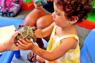Rock, Smocks & Animals (Ages: 1 - 4 years)