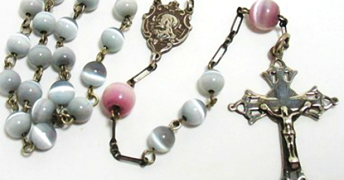 Historic rosary bead analysis and dating texas