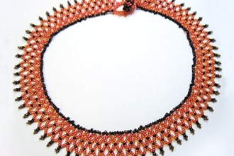 Simple Netted Necklace