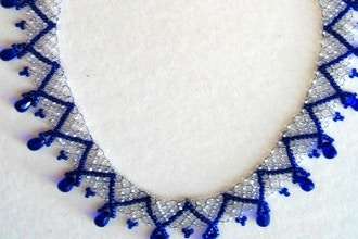 Hungarian Lace Necklace