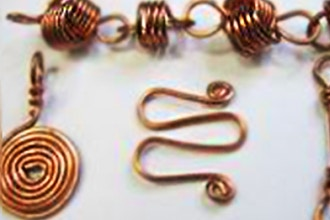 Intro to Wire Techniques Part III-Spirals,Coils & Curls