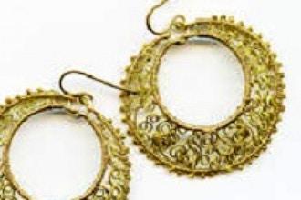 Curlicue Lace Pendant/Earrings