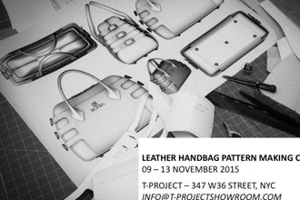 Leather Handbag Pattern Making Course