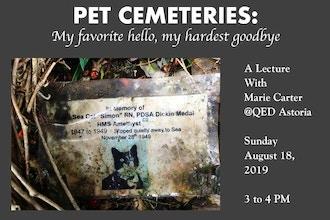 Pet Cemeteries Lecture