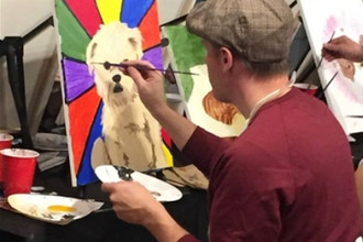 Paint & Sip with The Paint Place