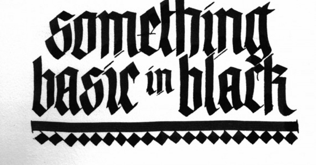 Gothic Lettering - Calligraphy &