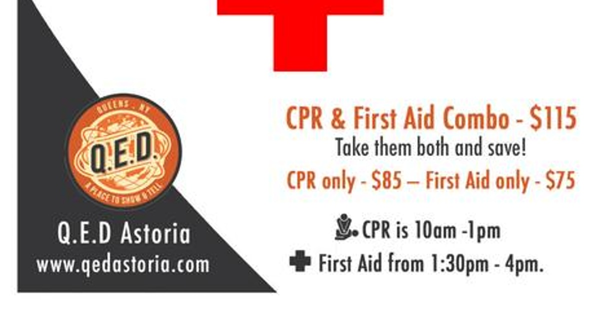 American Heart Association Cpr First Aid Training Medical