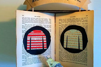 Shadowbox Pop-Up Altered Book