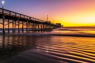 Newport Beach Pier Photo Walk