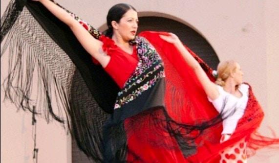 Naranjita Flamenco
