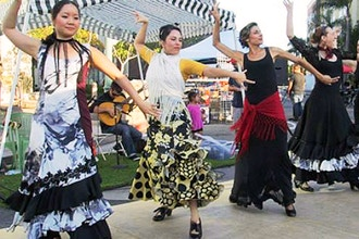 Flamenco Level 1 & 2 (1 hour Beginning Flamenco)