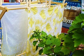 Natural-Dyed Kitchen Towel