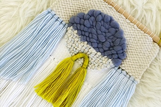 Learn to Weave + Make a Wall Tapestry