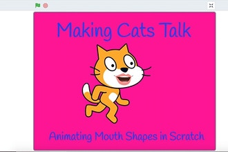 Making Cats Talk - Animating Mouth Shapes in Scratch