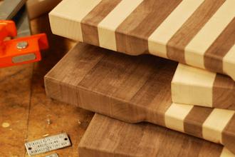 make your own custom cutting board furniture classes new york