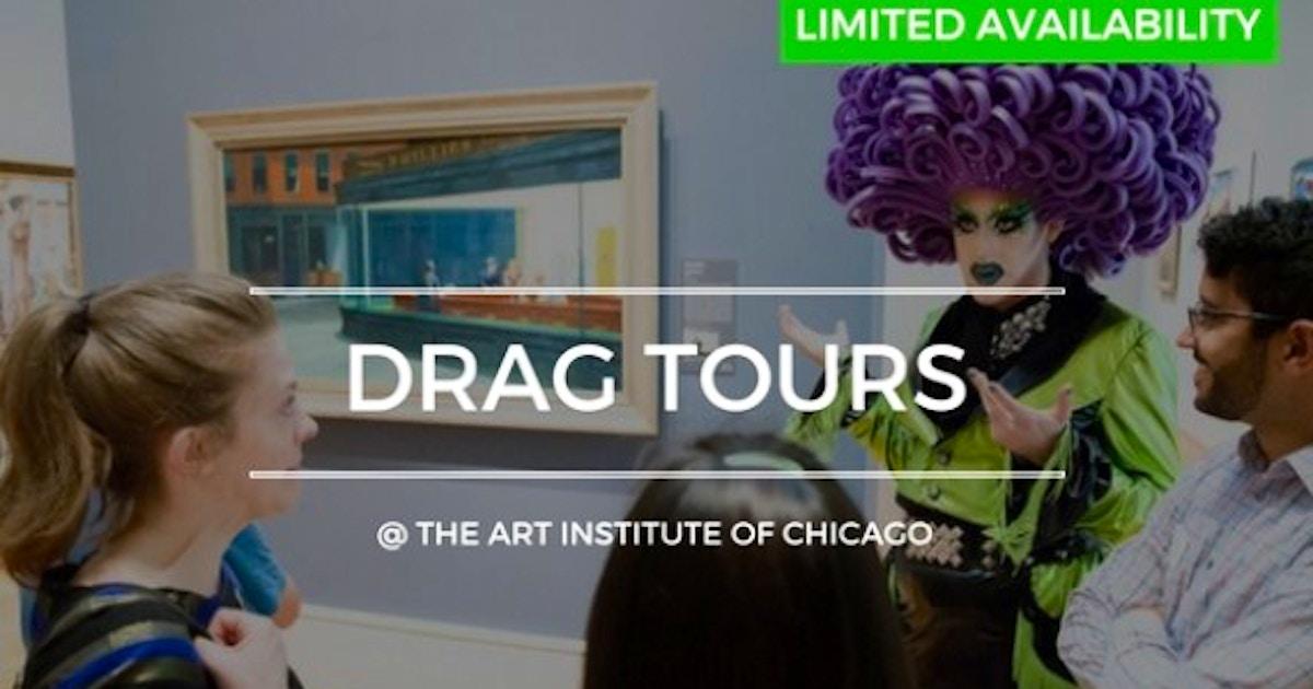 Art Institute of Chicago: Drag Queen Un-Highlights Tour - Museum Classes  Chicago | CourseHorse - Museum Hack