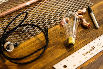 Build a Copper Lamp