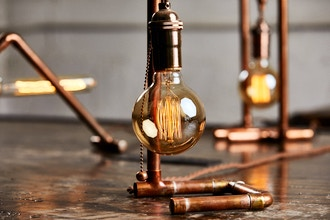 Build a Custom Copper Lamp (Intro to Copper Creations)