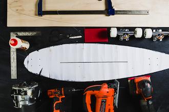 Build a Longboard (Skateboard)