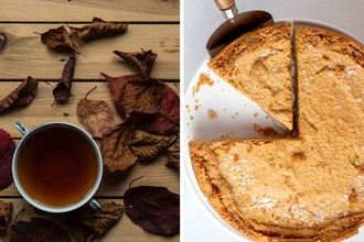 Bourbon Chai & Sweet Potato Pie