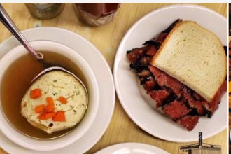 Unexpected Pairings: Katz's Delicatessen & Teranga