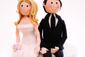 Fondant Bride & Groom Figurines Class