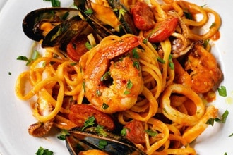 Chef's Table: Italian Feast Seafood