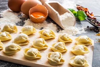 All About Pasta: Fresh Pasta Dough, Raviolo and more