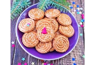 Pressed Christmas Cookies Cookies Classes New York