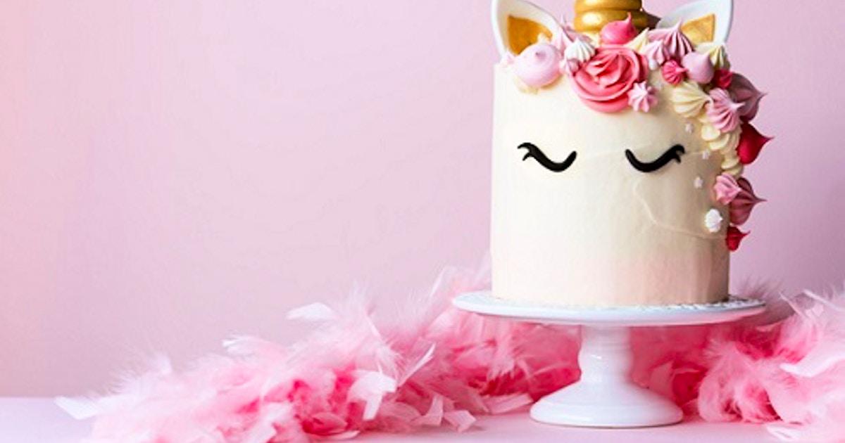 Valentine Unicorn Cake - Cake Decorating Classes New York ...