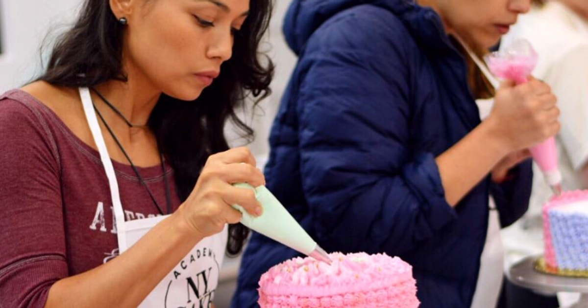 Cake Decorating 101 - Cake Decorating Classes New York ...