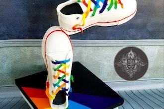 Gucci Sneaker Cake