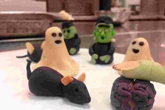 Marzipan Molded Creepies