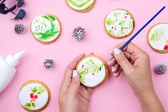 watercolor cookie decorating cookies classes new york